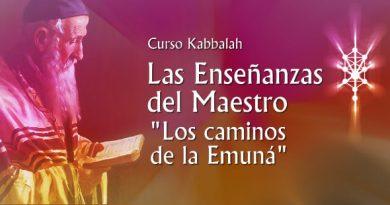 """Curso Kabbalah """"Los Caminos de la Emuná"""""""