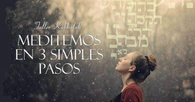 Taller Kabbalah Meditemos en 3 simples pasos