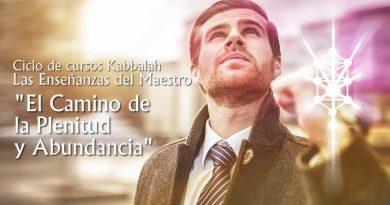 """Curso Kabbalah """"El Camino  de la Plenitud  y Abundancia"""""""