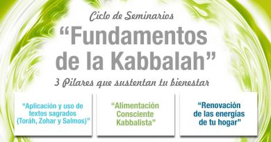 Ciclo de Seminarios: Fundamentos de la Kabbalah