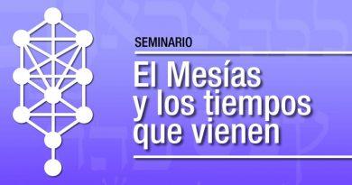 """Seminario: """"El Mesías y los tiempos que vienen"""""""