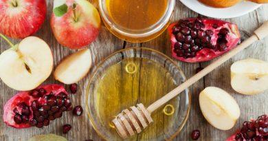 comidas y bendiciones de Rosh Hashaná