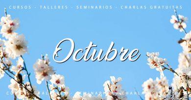 Calendario de cursos y actividades Octubre 2020