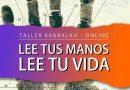 Taller Kabbalah: Lee tus manos, lee tu vida