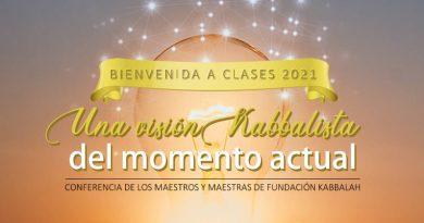 Conferencia: «Una visión kabbalista del momento actual»