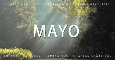 Calendario de cursos y actividades Mayo 2021